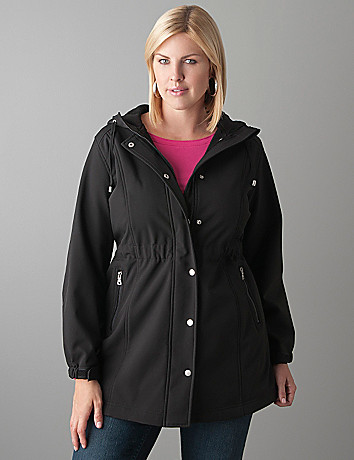 Plus Size Soft Lined Coat by Lane Bryant