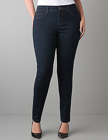 Plus Size Sateen Skinny Jean by Lane Bryant