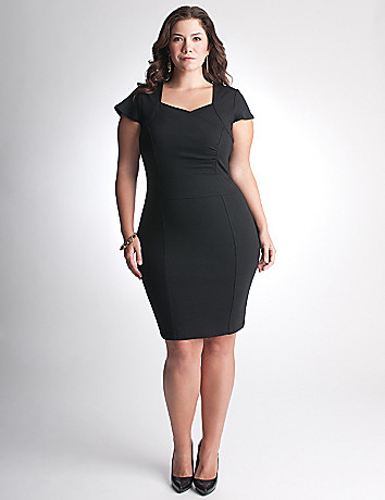 Plus Size Short Sleeve Dress by Lane Bryant