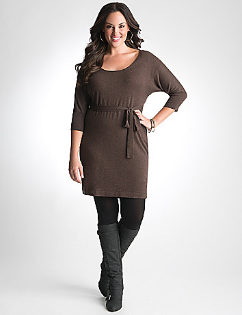 Plus Size Sweater Dress by Lane Bryant