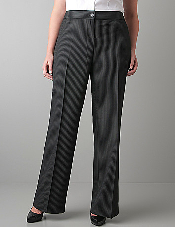 Pinstripe pant by Lane Bryant