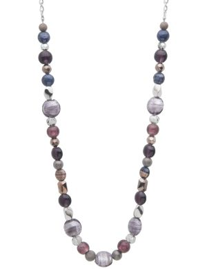 Glass bead necklace by Lane Bryant