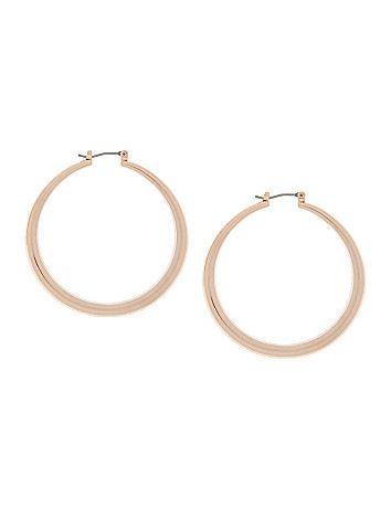 Medium hoop earrings by Lane Bryant