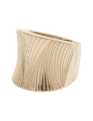 Modern etched stretch ring by Lane Bryant