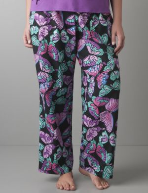 Butterfly woven sleep pant