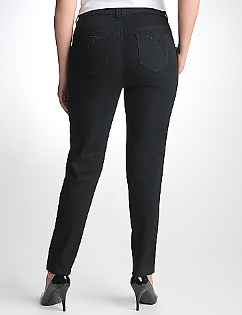Plus Size Black Skinny Jean by Lane Bryant