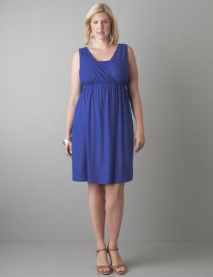 Shimmering A-line dress