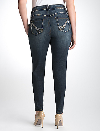 Genius Fit Denim Jegging by Lane Bryant