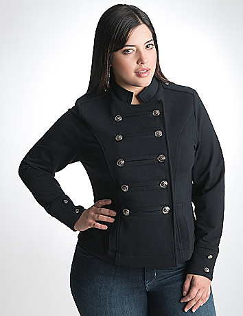Plus Size Military Jacket by Lane Bryant