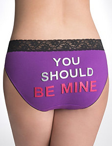 Plus Size Graphic Hipster Panty by Cacique