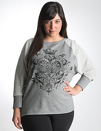 Active baseball tee by Lane Bryant