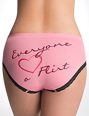 Plus Size Flirt Hipster Panty by Cacique