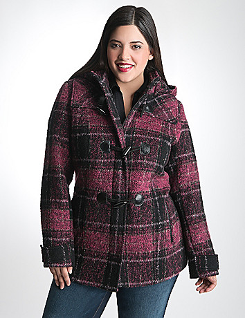 Toggle Coat with Hood by Lane Bryant