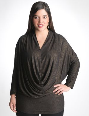 Shimmer dolman top by Seven7