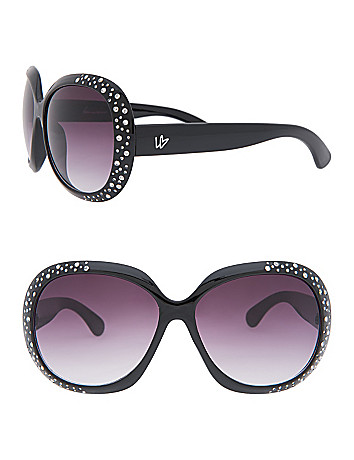 Cubic zirconium sunglasses by Lane Bryant