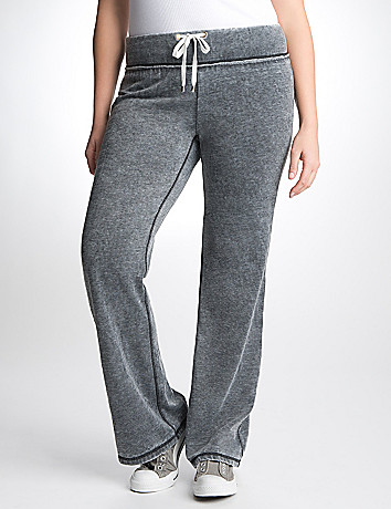 Full Figure Fleece Pant by Seven7