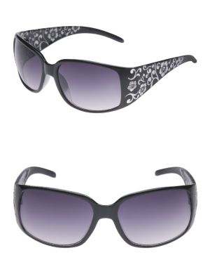 Foiled floral sunglasses