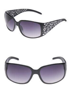Foiled floral sunglasses