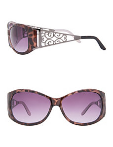 Animal & Filigree Sunglasses by Lane Bryant