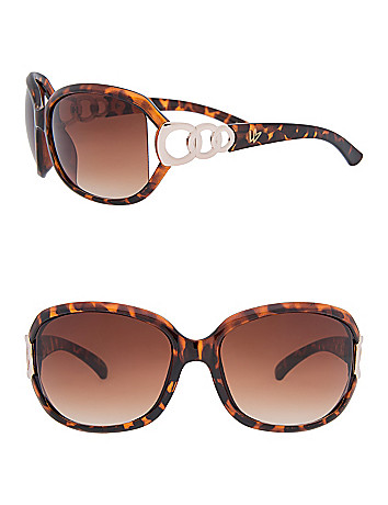 Tortoiseshell link sunglasses by Lane Bryant