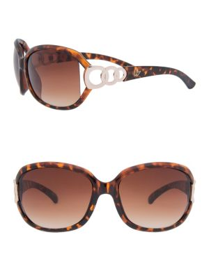Tortoiseshell link sunglasses
