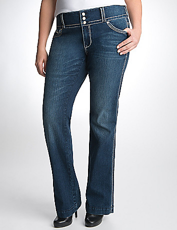 Plus Size Slim Boot Jean by Seven7
