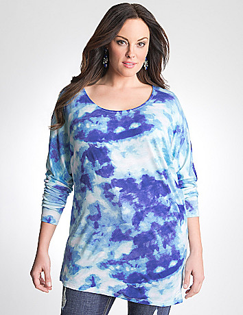 Plus Size Tie Dye Tunic by Seven7
