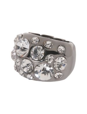 Cubic zirconium dome ring by Lane Bryant