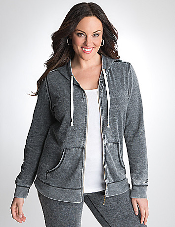 Plus Size Fleece Hoodie by Seven7