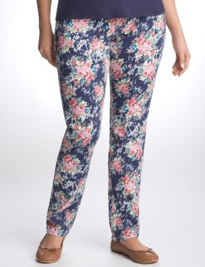 Floral skinny jean by Seven7