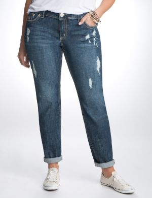 Distressed skinny jean by Seven7