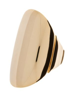 Polished oval ring by Lane Bryant