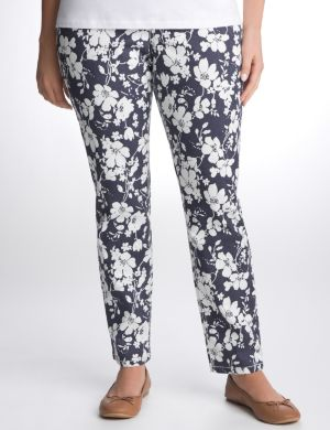 Indigo floral skinny jean by Seven7