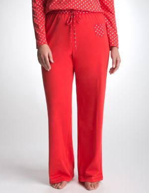 Sparkle dot knit sleep pant
