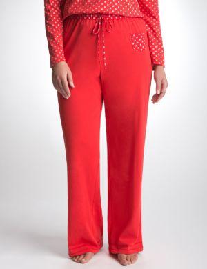 Sparkle dot knit sleep pant