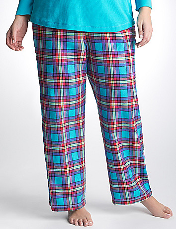 Plus Size Plaid Sleep Pant by Cacique