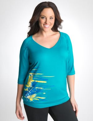Brushstroke logo top by Reebok