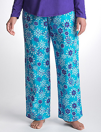 Plus Size Snowflake Sleep Pant by Cacique