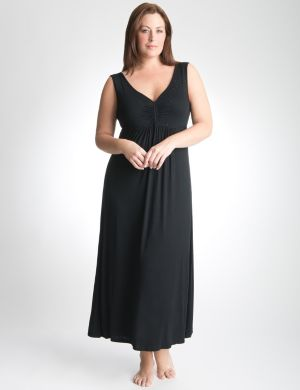 Tru to You embellished sleep maxi