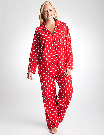 Plus Size 2 Piece PJ Set by Cacique