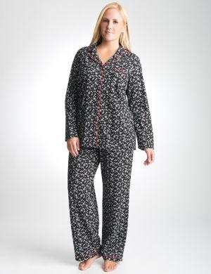 Snowflake 2-piece pajama set