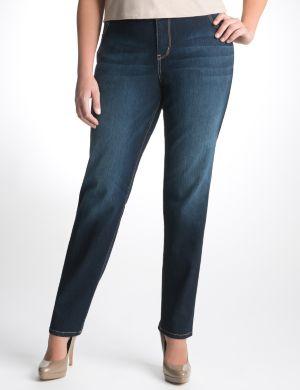 Indigo skinny jean