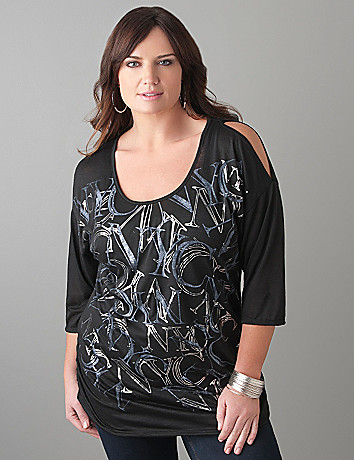 Plus Size NYC Graphic Tee by Lane Bryant