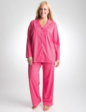 Shimmer dot 2-piece PJ set