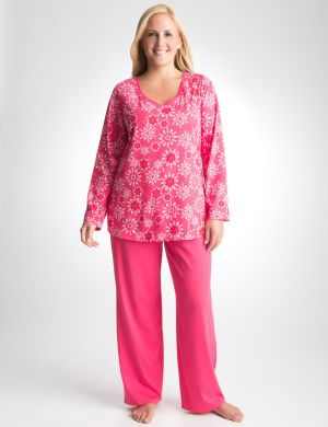 Swirling snow 2-piece PJ set