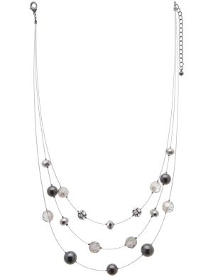 Tiered illusion necklace by Lane Bryant