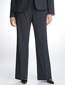 Full Figure Pinstripe Suit Pant by Lane Bryant
