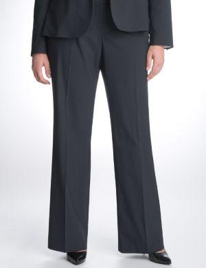 Pinstripe suit pant