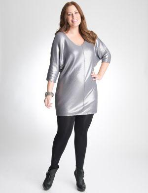 Sequin wedge dress