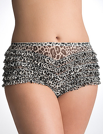 Plus Size Ruffled Panty by Cacique